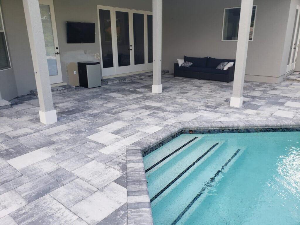 brick pavers pool deck number 1 pavers